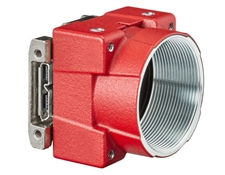Allied Vision Alvium Camera, Partial Housing, Right Angle IO Port (Front)