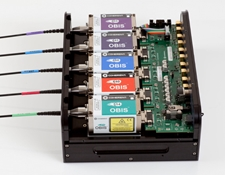 Coherent® OBIS™ LX/LS Laser Box with Power Supply 1228877 (OBIS lasers not included)